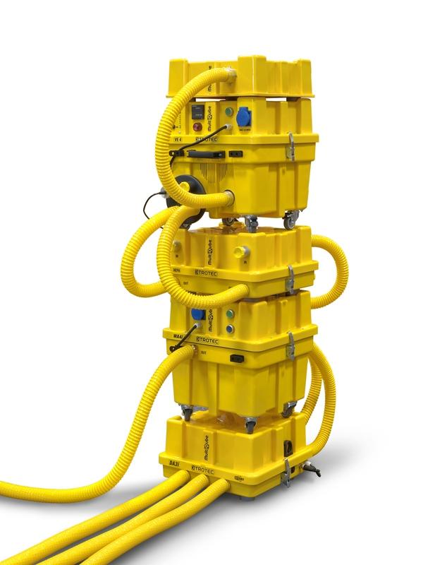 technische_trocknung_1 Wasserschadensbeseitigung durch technische Trocknung mit System